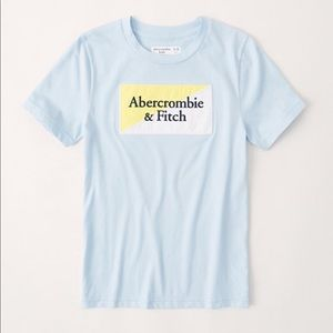 Abercrombie Kids- embroidered logo tee